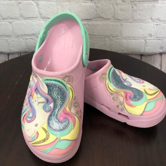 CROCS Shoes | Crocs Pink Unicorn | Poshmark
